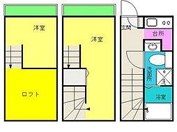 RIFMIC博多city[1階]の間取り