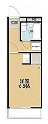 所沢メゾン3号館[4階]の間取り