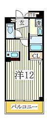 ホワイト ウッド[2階]の間取り