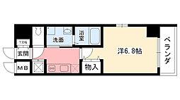 シティライフ夙川[4階]の間取り