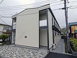 神奈川県鎌倉市大船の賃貸アパートの外観