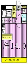 オアシス2000[5階]の間取り