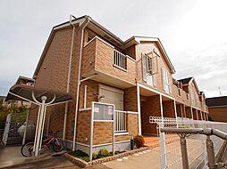 奈良県生駒郡平群町大字椣原の賃貸アパートの外観