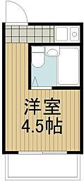 武蔵野ウイング[-1階]の間取り