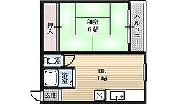 ストロング第1新大阪[2階]の間取り
