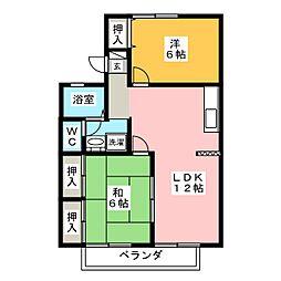 セジュール近藤IV[2階]の間取り