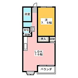 日彰ビル[7階]の間取り
