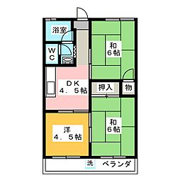 メゾン二村台[3階]の間取り