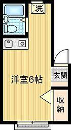 ライトコーポ[A105号室]の間取り