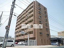 岡山県岡山市北区中井町2丁目の賃貸マンションの外観