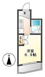 S・V丸の内[2階]の間取り