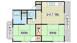 [テラスハウス] 兵庫県たつの市龍野町日山103番地 の賃貸【/】の間取り