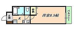 リヴェールメイ垂水[5階]の間取り