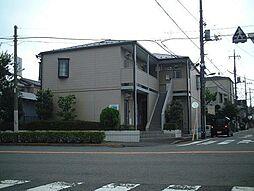 東京都足立区竹の塚1丁目の賃貸アパートの外観