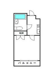 埼玉県さいたま市浦和区岸町1丁目の賃貸マンションの間取り