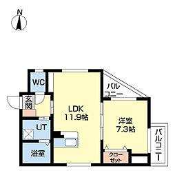 西高蔵駅 9.3万円