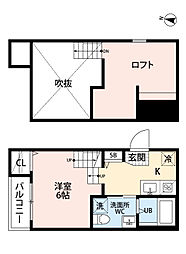 新築 沖HOUSE ・初期費用約8万円・[201号室号室]の間取り