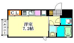 フォルス17[4階]の間取り