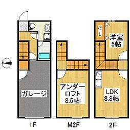 G・ROSSO A棟[2階]の間取り
