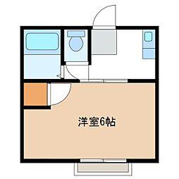 稲田アパート[2階]の間取り