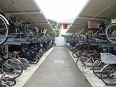 駐輪スペースもしっかりと。