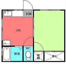 K-HOUSE[1階]の間取り