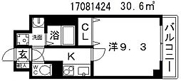 プロスペクト美章園[3階]の間取り