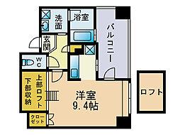 アクタス大手門2[8階]の間取り