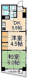 UJ浅草マンション[4階]の間取り