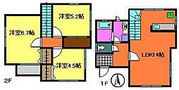 [一戸建] 千葉県千葉市中央区都町1丁目 の賃貸【/】の間取り