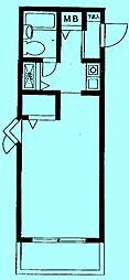 モナークマンション溝ノ口第3[2階]の間取り