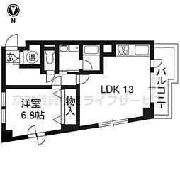 シェレクレール[7階]の間取り