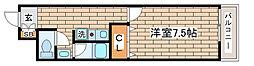 兵庫県神戸市長田区庄山町3丁目の賃貸マンションの間取り