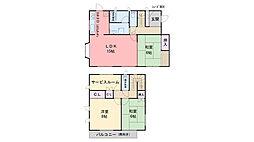 [一戸建] 福岡県福岡市早良区室見4丁目 の賃貸【/】の間取り