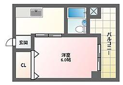 サンコー第一ビル[5階]の間取り