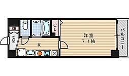 フォレステージ桜川[507号室]の間取り