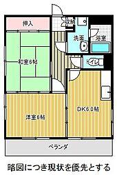 愛知県名古屋市千種区汁谷町の賃貸マンションの間取り