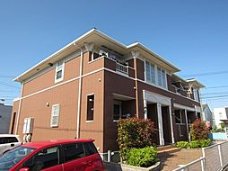 愛知県あま市中萱津西ノ川の賃貸アパートの外観
