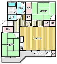 鎌ケ谷グリーンハイツ25号棟 5階  オーナーチェンジ