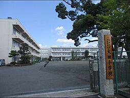 大田小学校まで...
