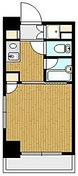 ヴェルステージ関内[6階]の間取り