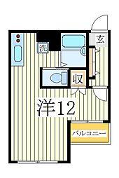 パイナリー[3階]の間取り