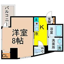 サン名駅南ビル[5階]の間取り
