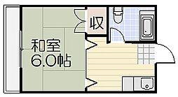 山栄ビル[4階]の間取り