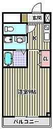 モントハイム[2階]の間取り