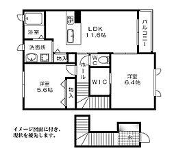 フローラ高須[204号室]の間取り