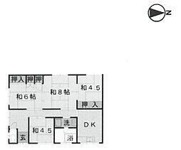 重田アパート[21号室]の間取り