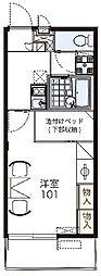 LEOPALACE アウローラ[1階]の間取り