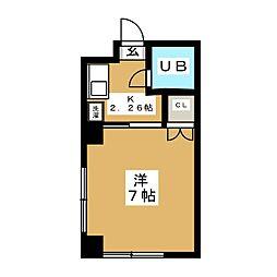 レジデンス中央[3階]の間取り