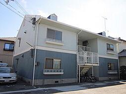 メゾン松本 A棟[203号室]の外観